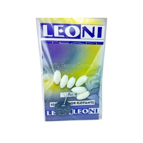 Perlas Ovaladas C/Top Leoni