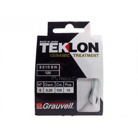 Anzuelo montado Teklon 8310 BN