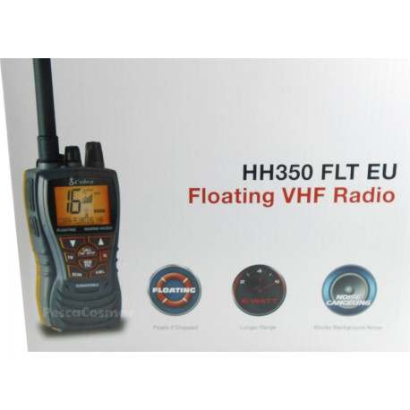 Cobra Marine HH350FLT EU Floating VHF Radio
