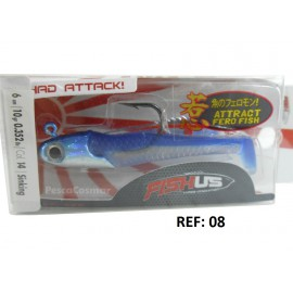Fishus Shad Attack Lures