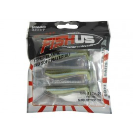 Fishus Shad Attack Tail