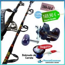 Equipo Pesca Curricán Samurai Shimano