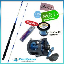 Equipo Pesca Curricán XRT