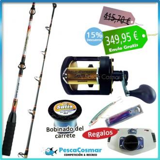 Equipo Pesca Curricán Catana TLD 30