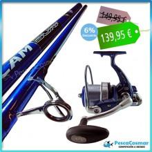Equipo Pesca Scepter Slam