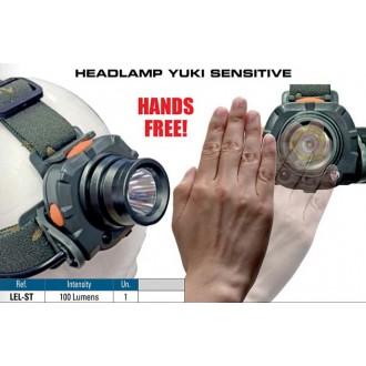 Linterna de cabeza Yuki 100 lumens Sensitive