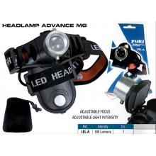 Linterna de cabeza Yuki 160 lumens Advance mg