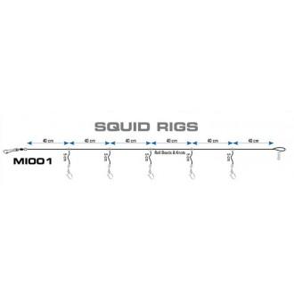 Aparejo Calamar Seaguar Squid Rigs
