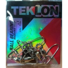 Emerillon Teklon Ball Bearing Insurance Snap C/Imperdible