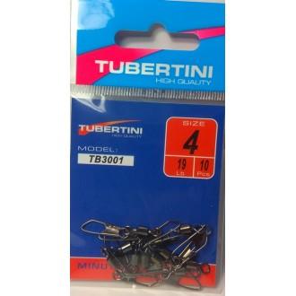 Mosquetón Con Giratorio Tubertini TB-3001