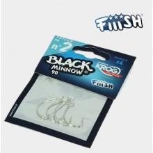 Black Minnow Anzuelo Krog Premium VMC