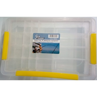 Caja Plastico Waterproof Transp. 273mm.
