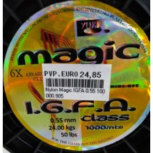 NYLON MAGIC IGFA 0.55mm. 1000MTS.