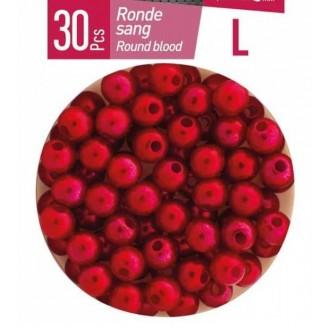 Perla Redonda Roja Daiwa