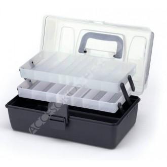 Caja Plástico Mod. 304 (2 Bandejas)