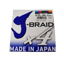 Trenzado Daiwa J-Braid X4