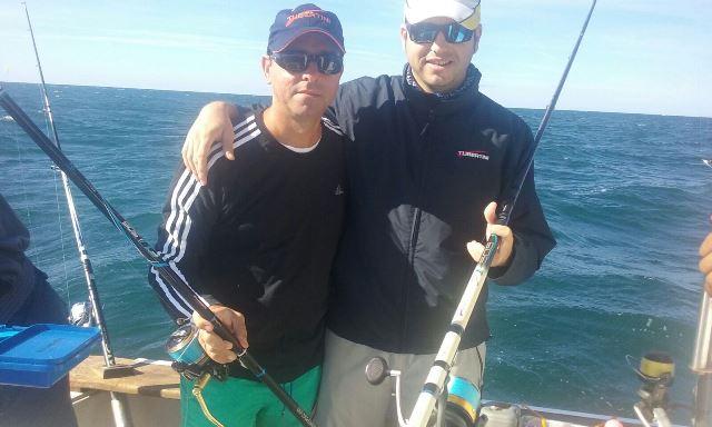 miguel y luis pesca competicion