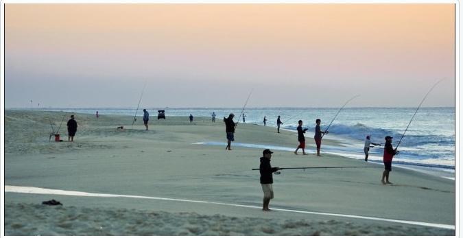 la pesca del pagel desde costa